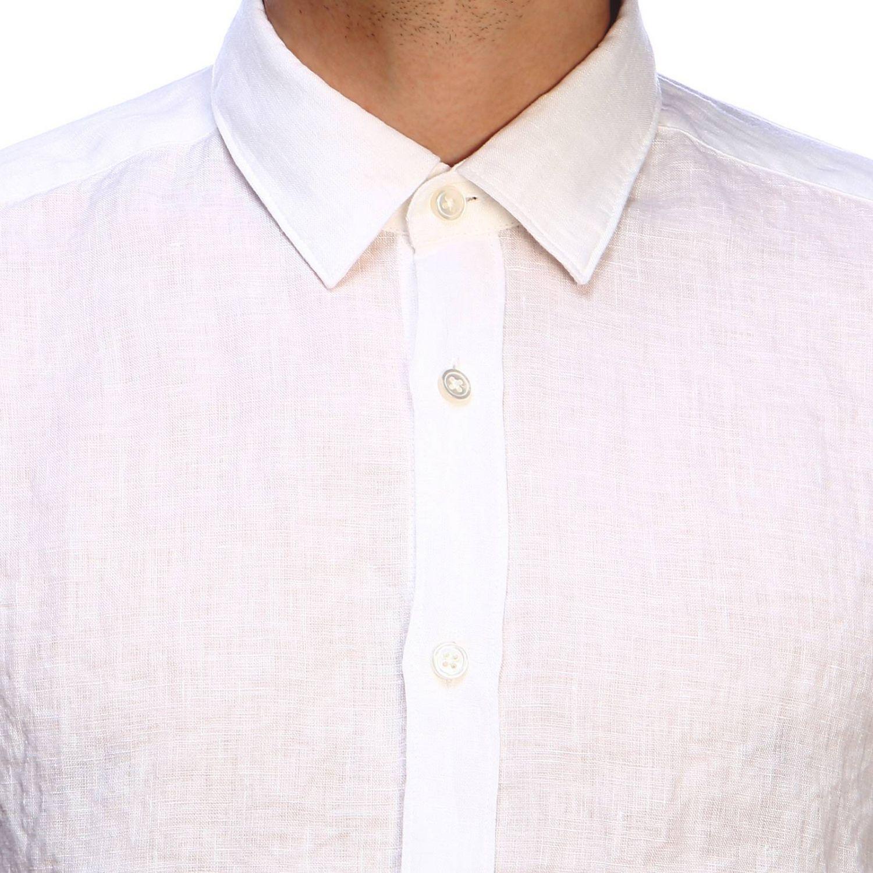 Shirt men Hugo Boss white 4