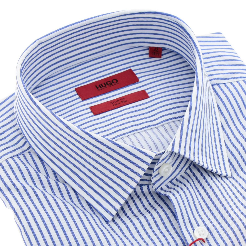 Shirt Hugo Boss: Shirt men Hugo Boss blue 2