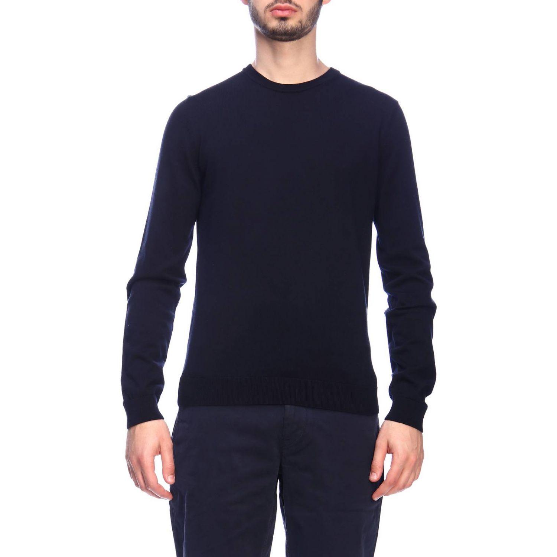Jersey hombre Hugo Boss azul oscuro 1