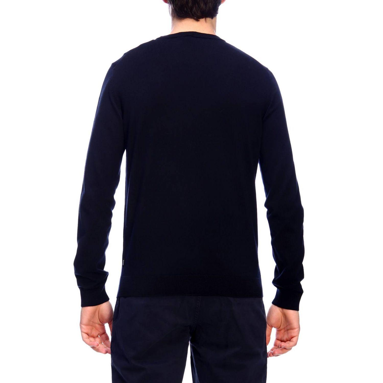 Jersey hombre Hugo Boss azul oscuro 3