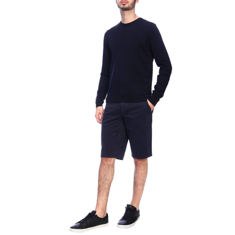 Sweater Hugo Boss: Sweater men Hugo Boss blue 4