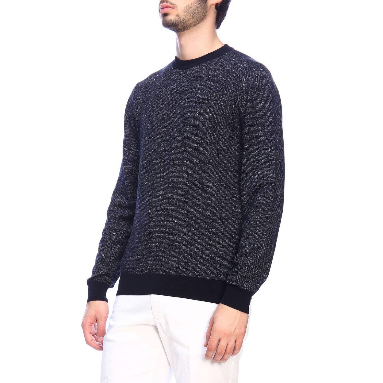Sweater men Hugo Boss blue 2