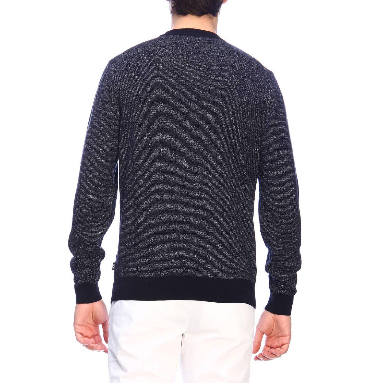 Sweater men Hugo Boss blue 3