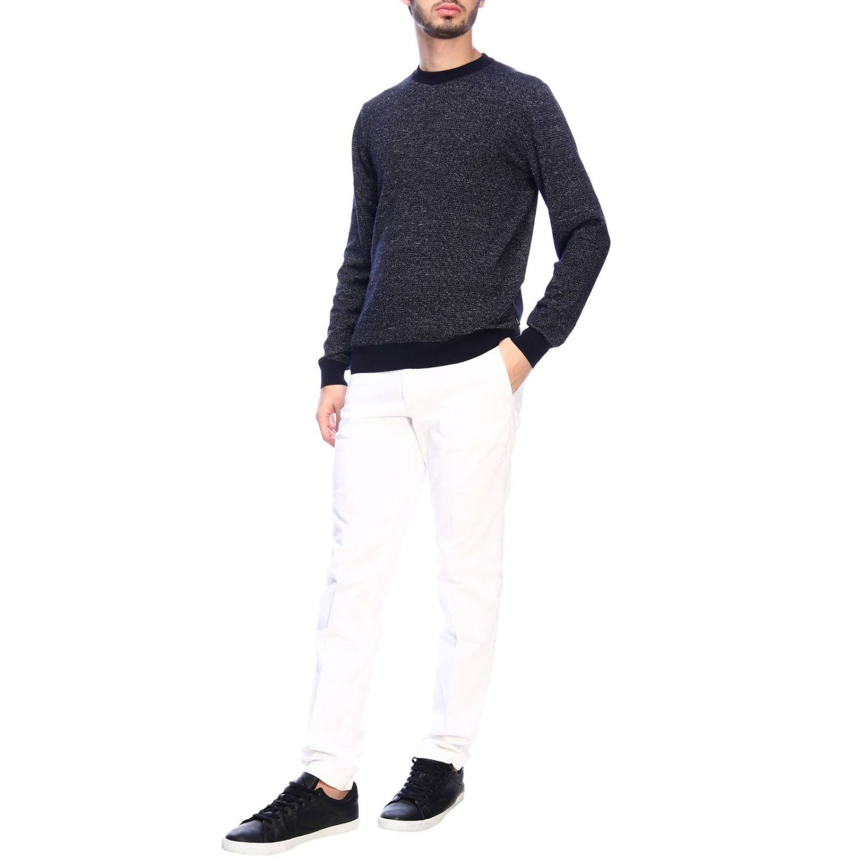 Sweater men Hugo Boss blue 4