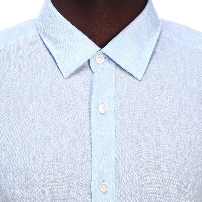 Рубашка Мужское Hugo Boss небесно-голубой 4
