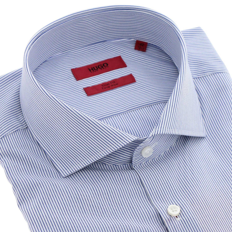 Shirt men Hugo Boss white 2