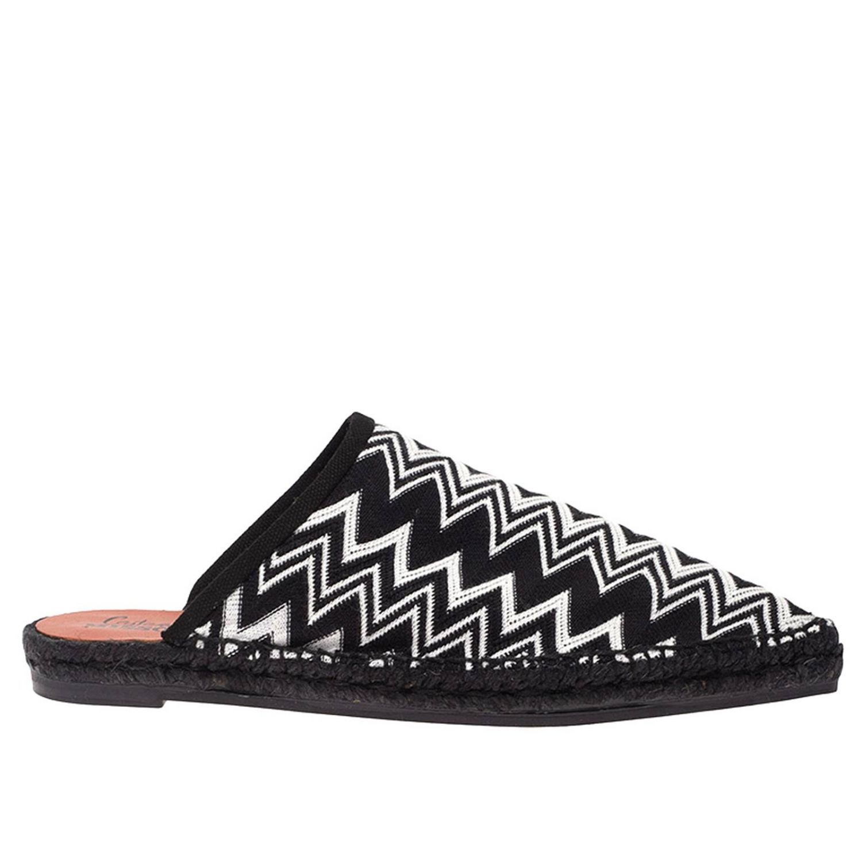 鞋 女士 Castaner 黑色 1