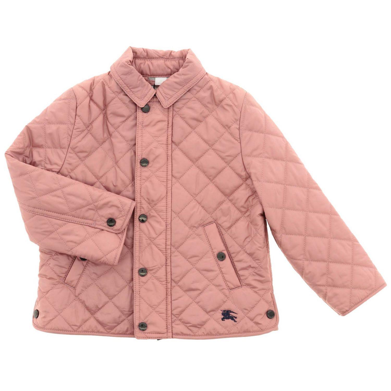 Veste enfant Burberry Infant rose 1