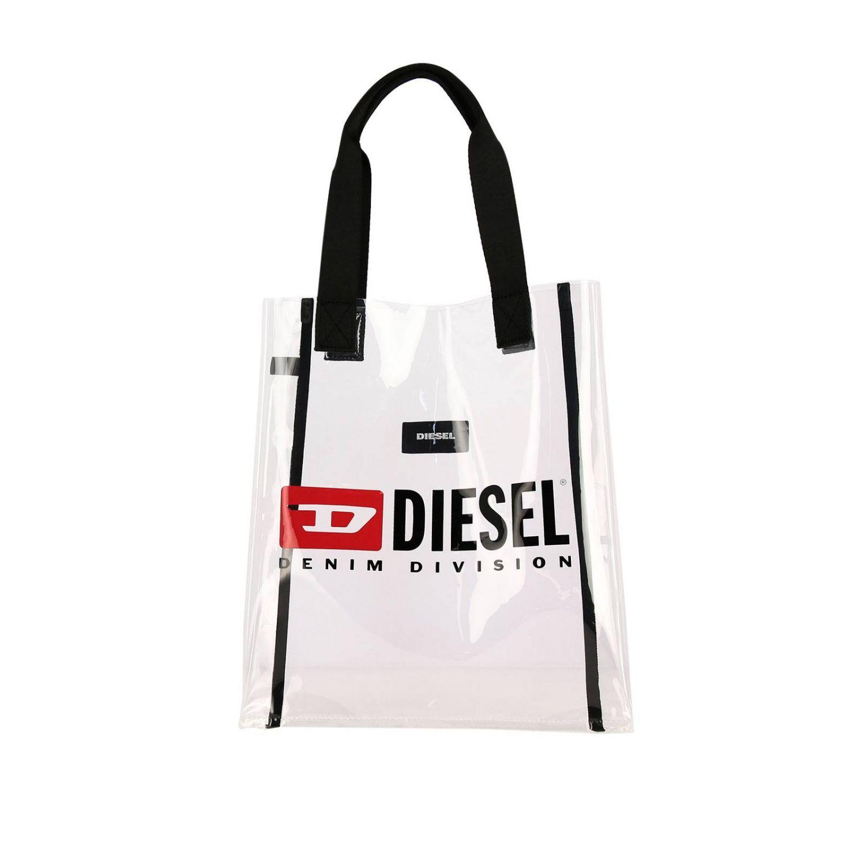 Bolso niños Diesel blanco 1