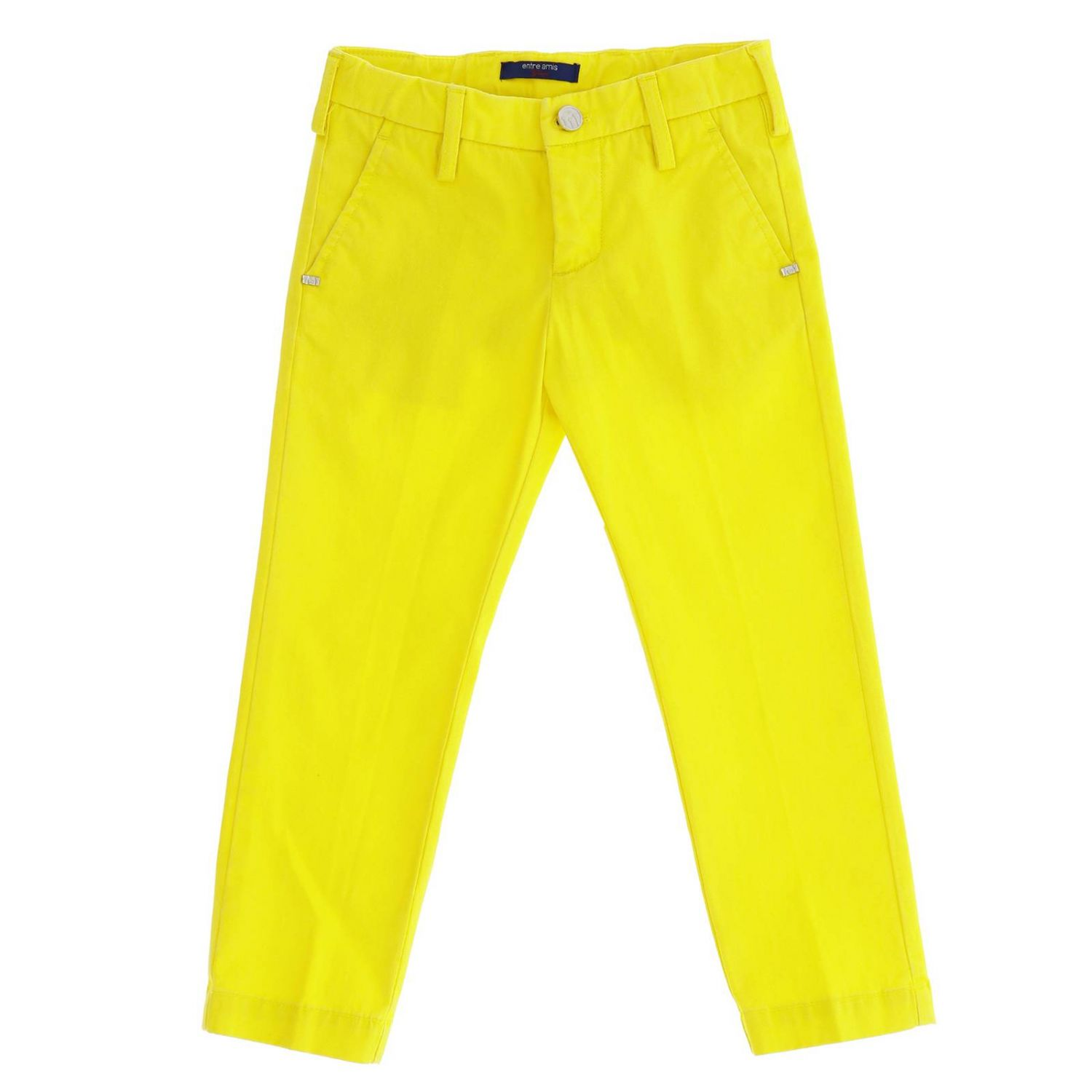 Trousers kids Entre Amis yellow 1