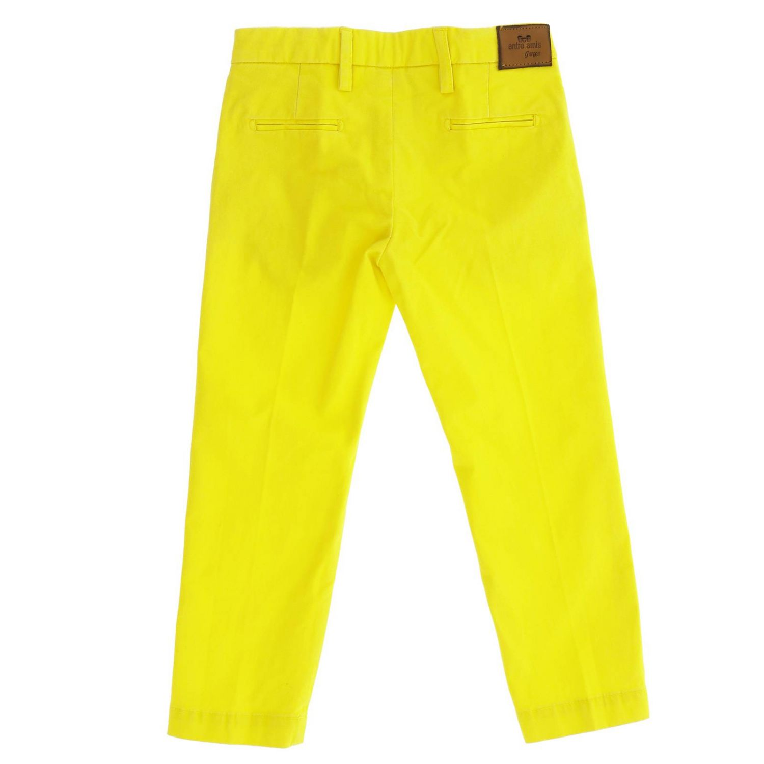 Trousers kids Entre Amis yellow 2