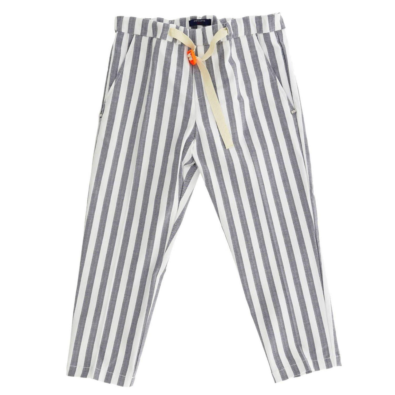 Pants kids Entre Amis gnawed blue 1