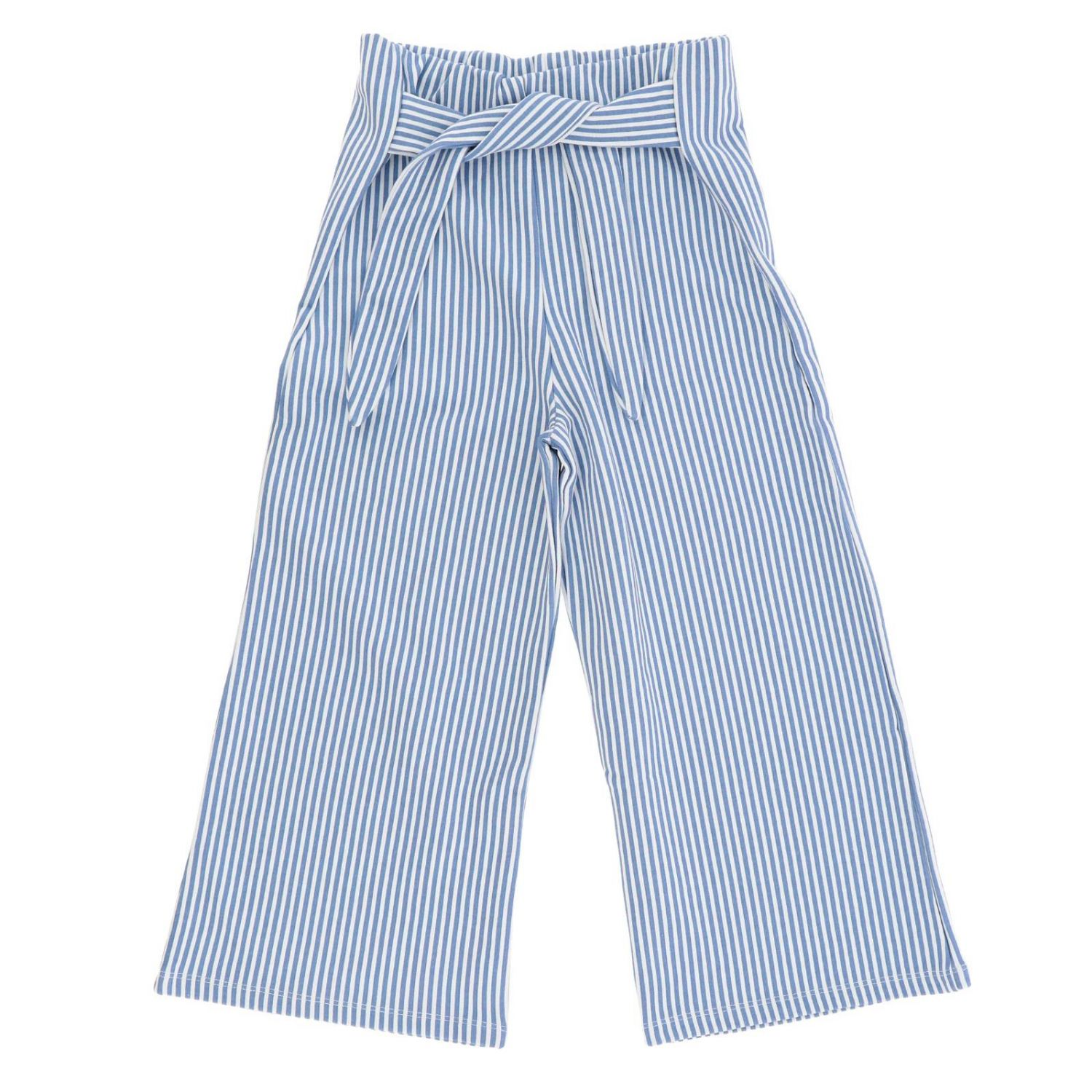 Trousers kids Manila Grace sky blue 1