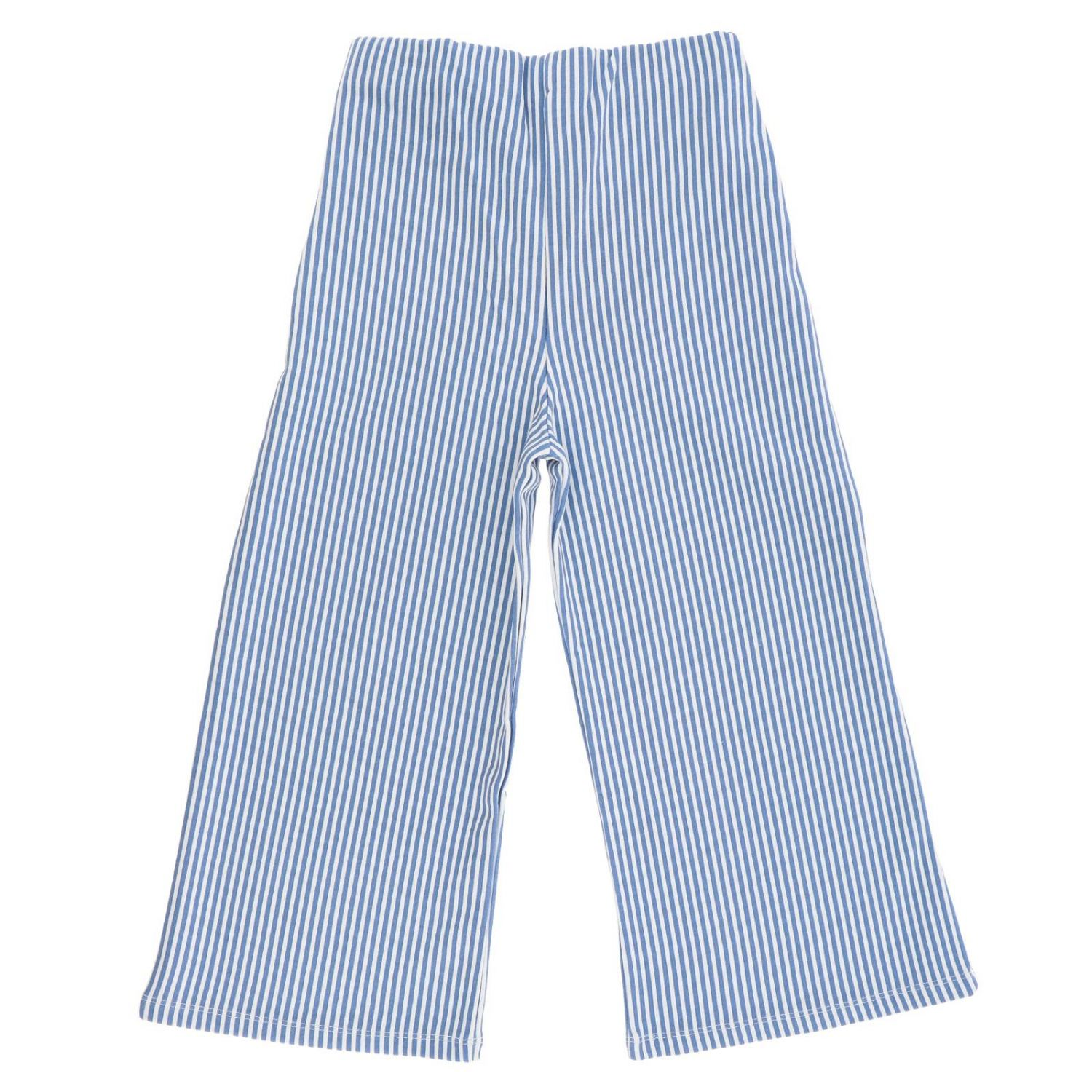 Trousers kids Manila Grace sky blue 2