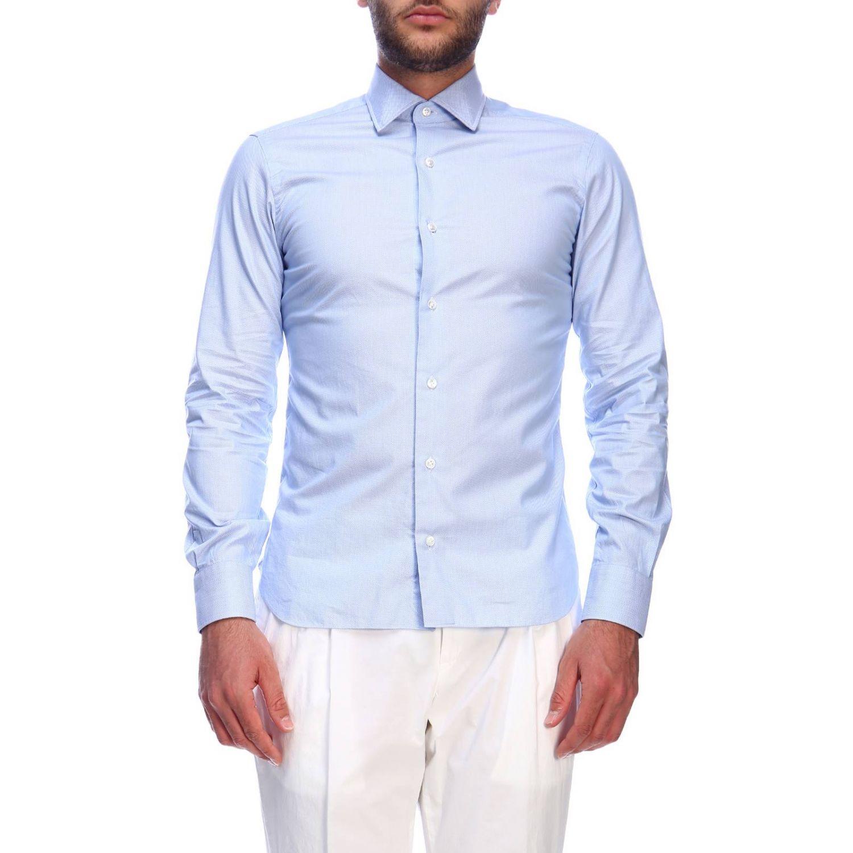 Shirt men Barba Culto sky blue 1