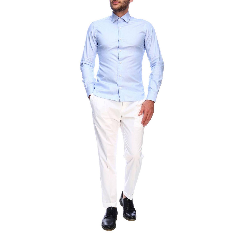 Shirt men Barba Culto sky blue 4