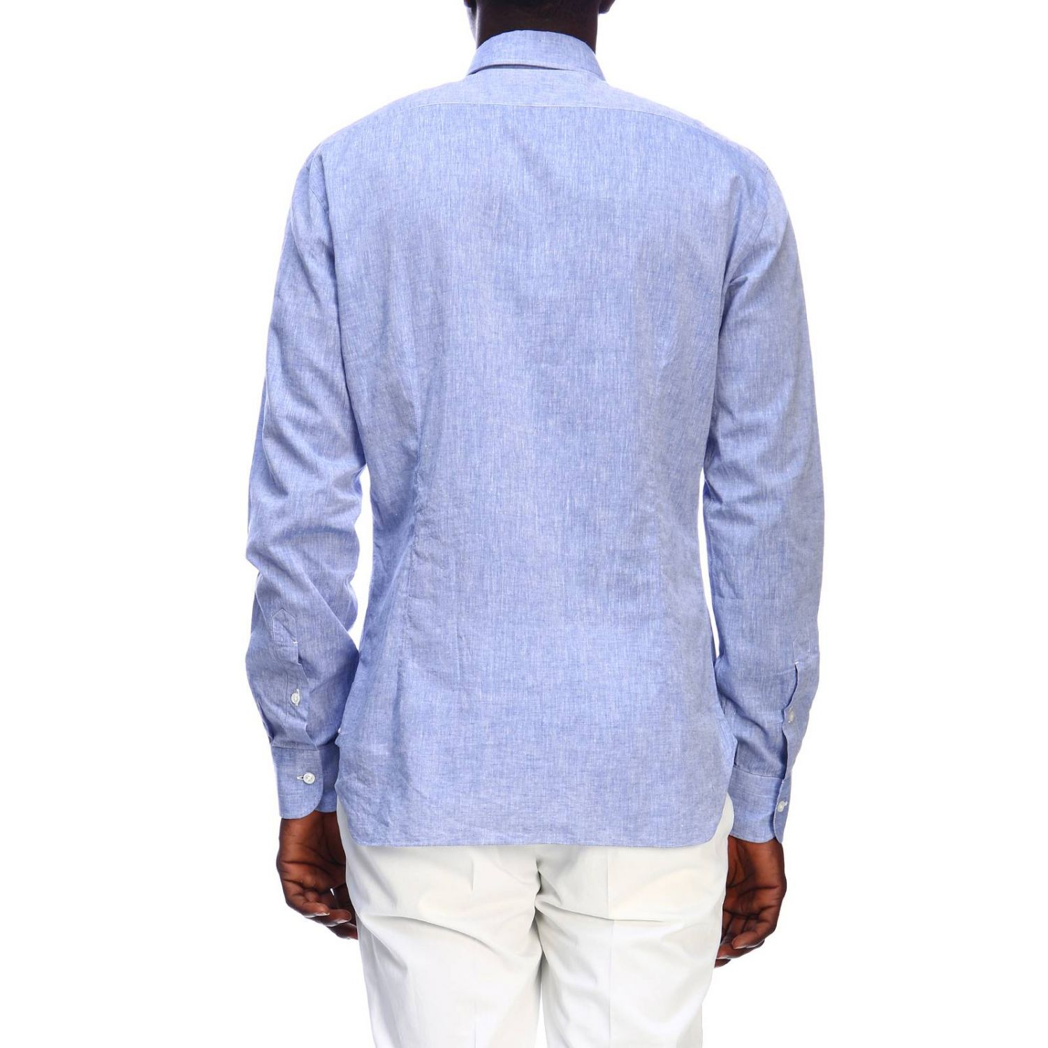 Shirt men Barba Culto denim 3