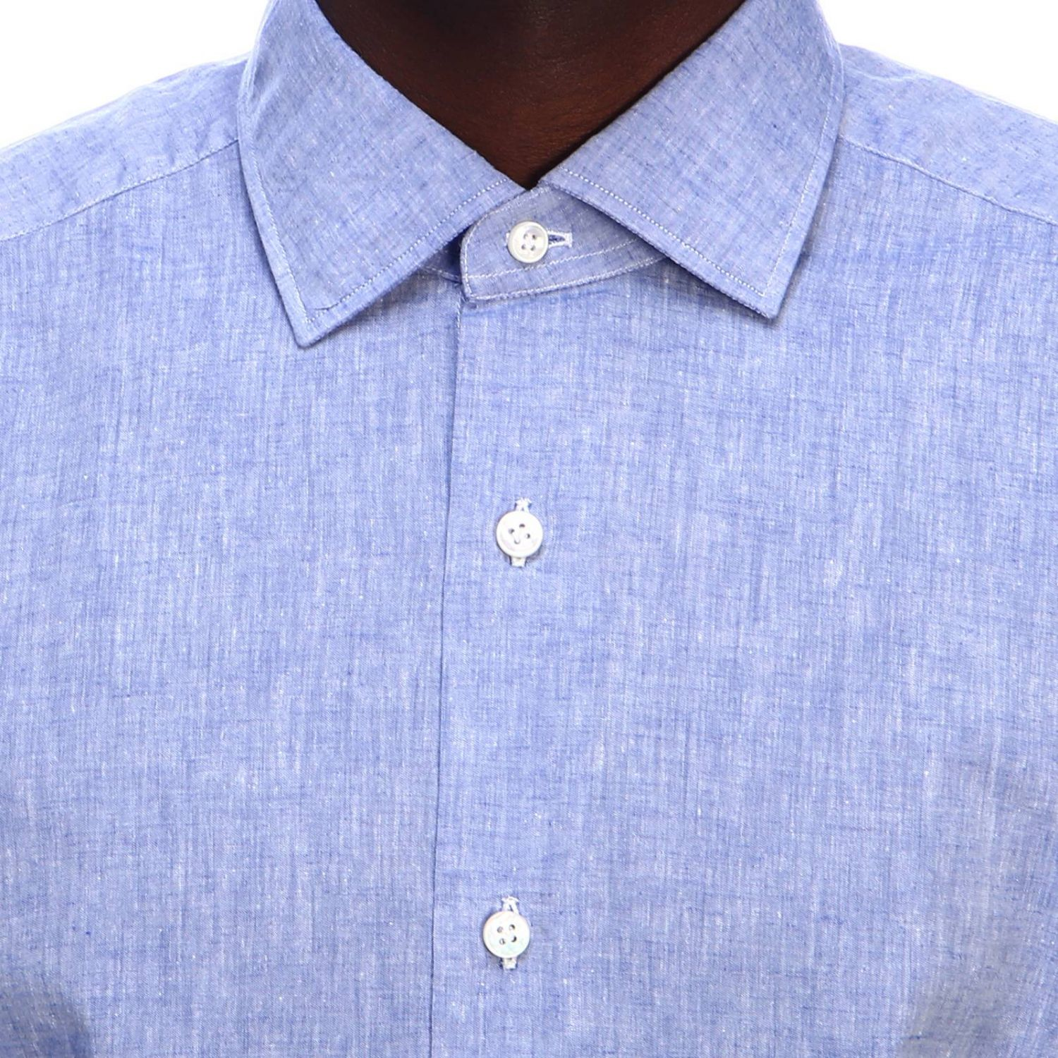 Shirt men Barba Culto denim 4