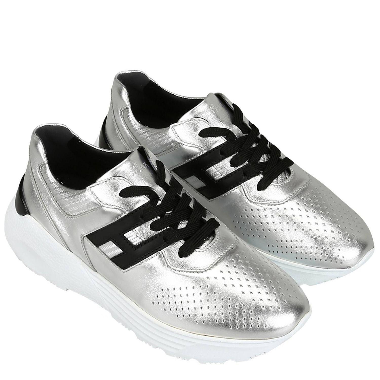 Scarpe Uomo Hogan Sneakers Hogan Uomo Argento Sneakers Hogan Hxm4430br10 Kxq Giglio It