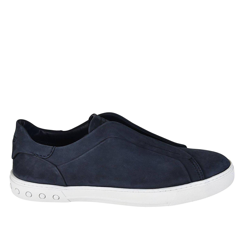 Zapatillas mujer Tod's azul oscuro 1