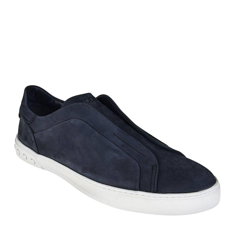 Zapatillas mujer Tod's azul oscuro 2