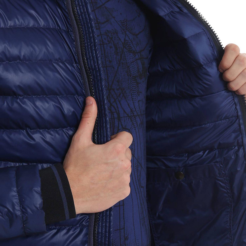 Jacket men Woolrich blue 3