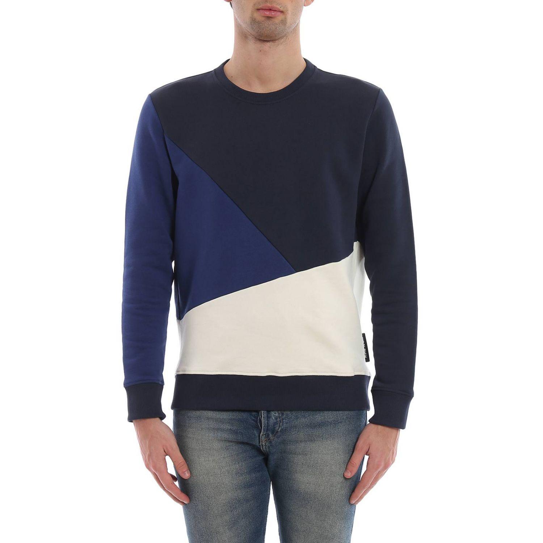 Sweatshirt Woolrich: Sweatshirt men Woolrich blue 1