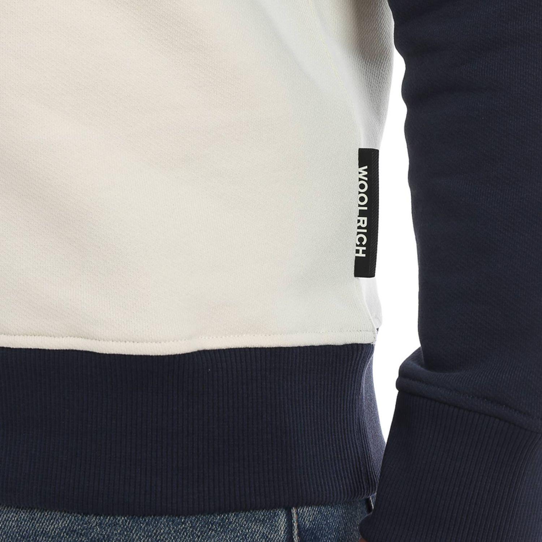 Sweatshirt Woolrich: Sweatshirt men Woolrich blue 3