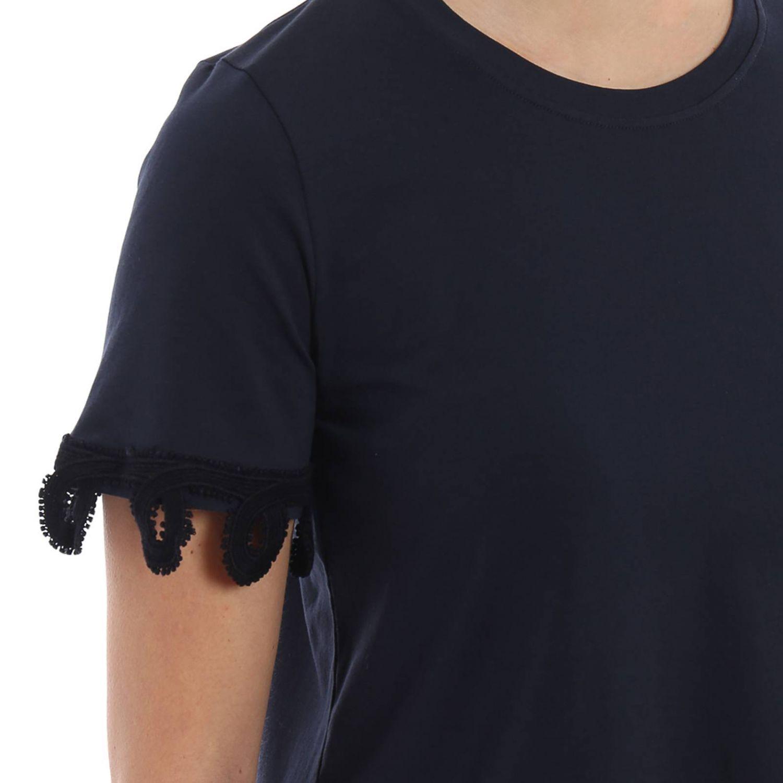 T-shirt donna Dondup blue 3