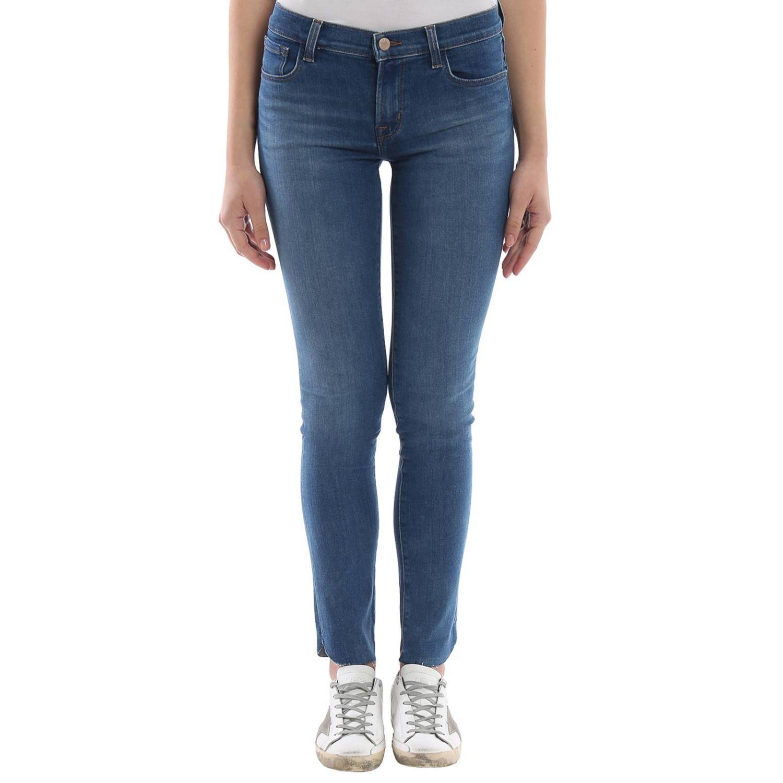 牛仔裤 女士 J Brand 蓝色 1