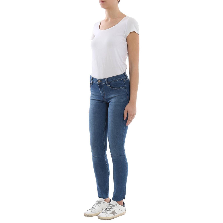 牛仔裤 女士 J Brand 蓝色 4