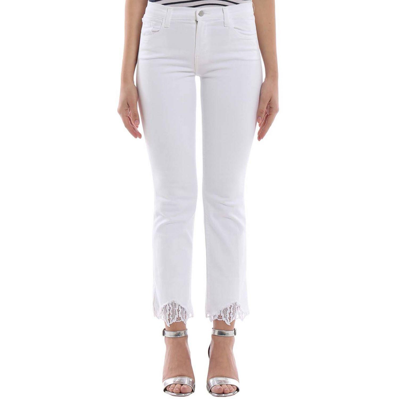 牛仔裤 女士 J Brand 白色 1