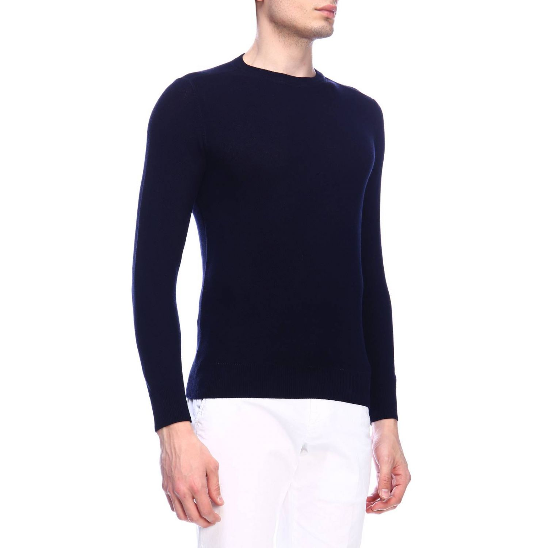 Sweater men Kangra blue 2