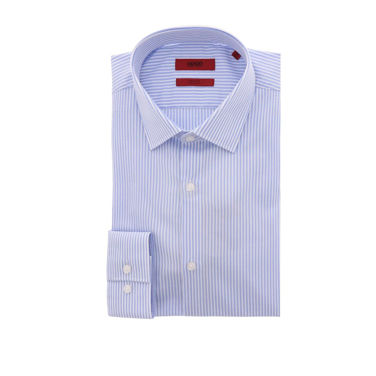 Shirt men Hugo Boss sky blue 1