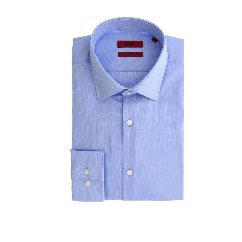 Camisa hombre Hugo Boss azul oscuro 1 1