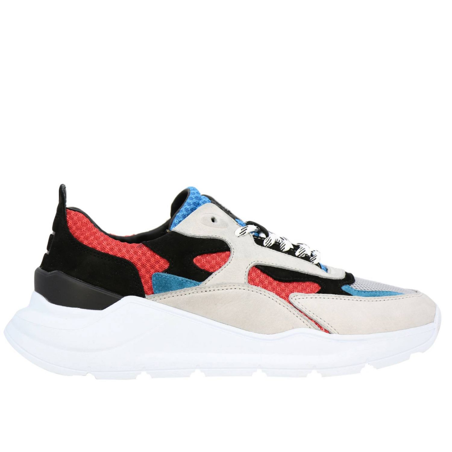 Chaussures homme D.a.t.e. rouge 1