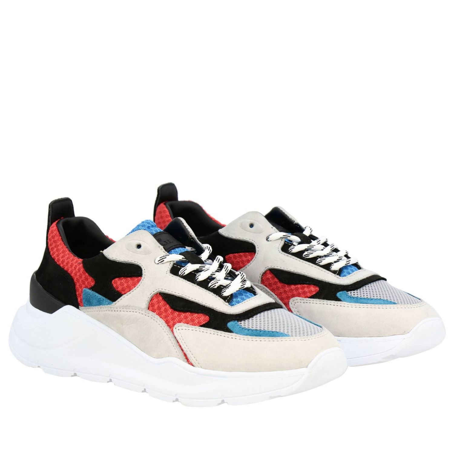 Chaussures homme D.a.t.e. rouge 2