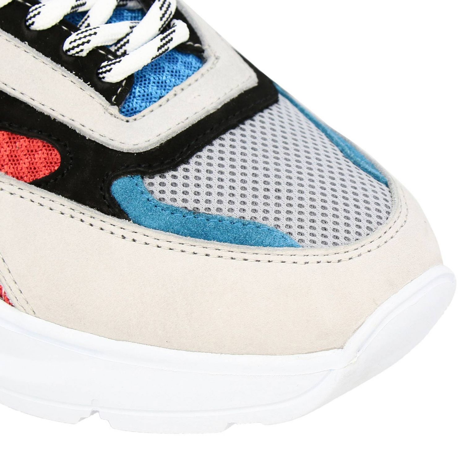 Chaussures homme D.a.t.e. rouge 3