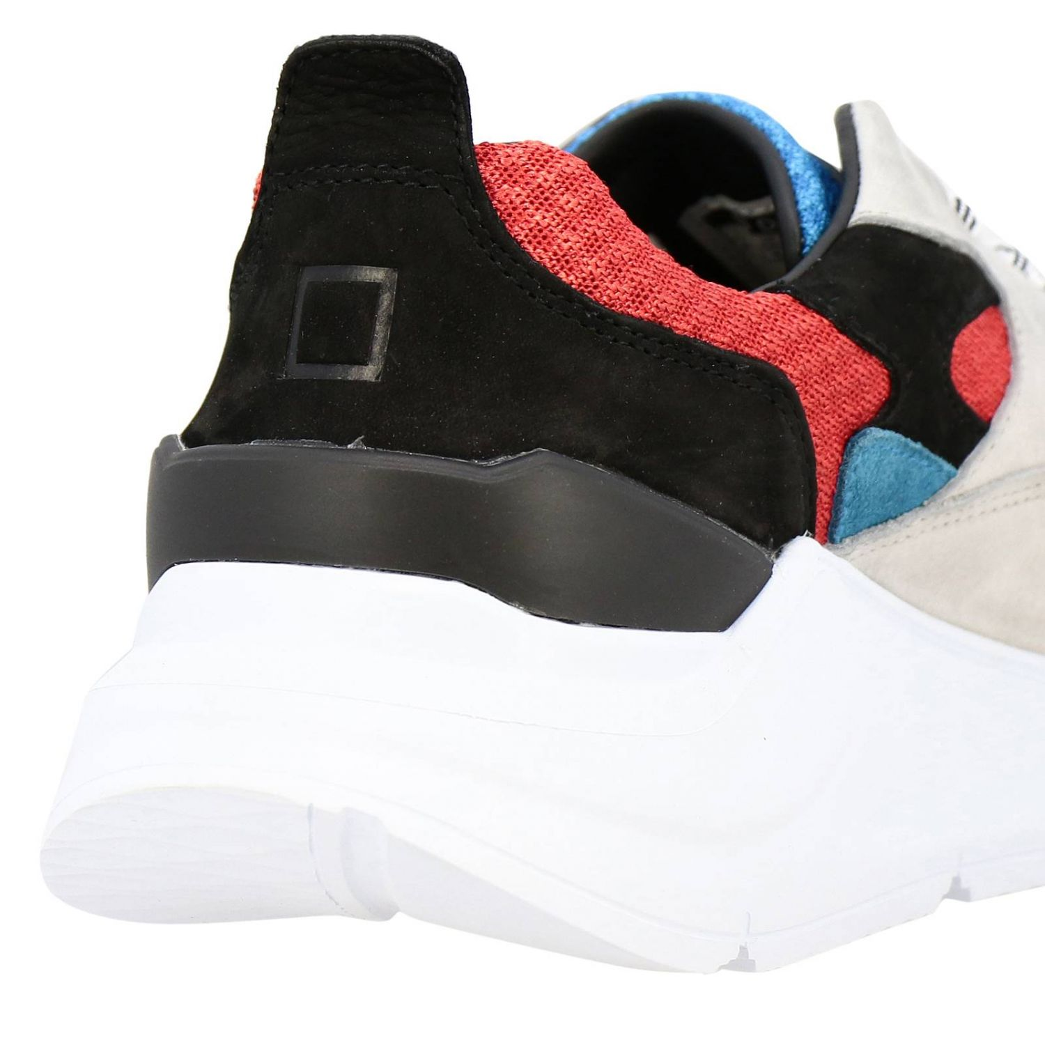 Chaussures homme D.a.t.e. rouge 4