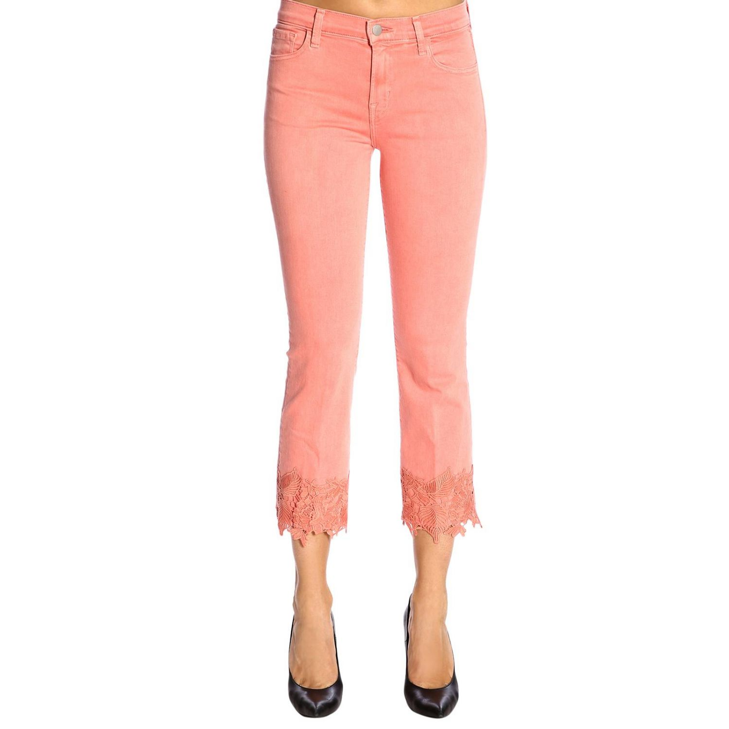 Jeans mujer J Brand rosa 1