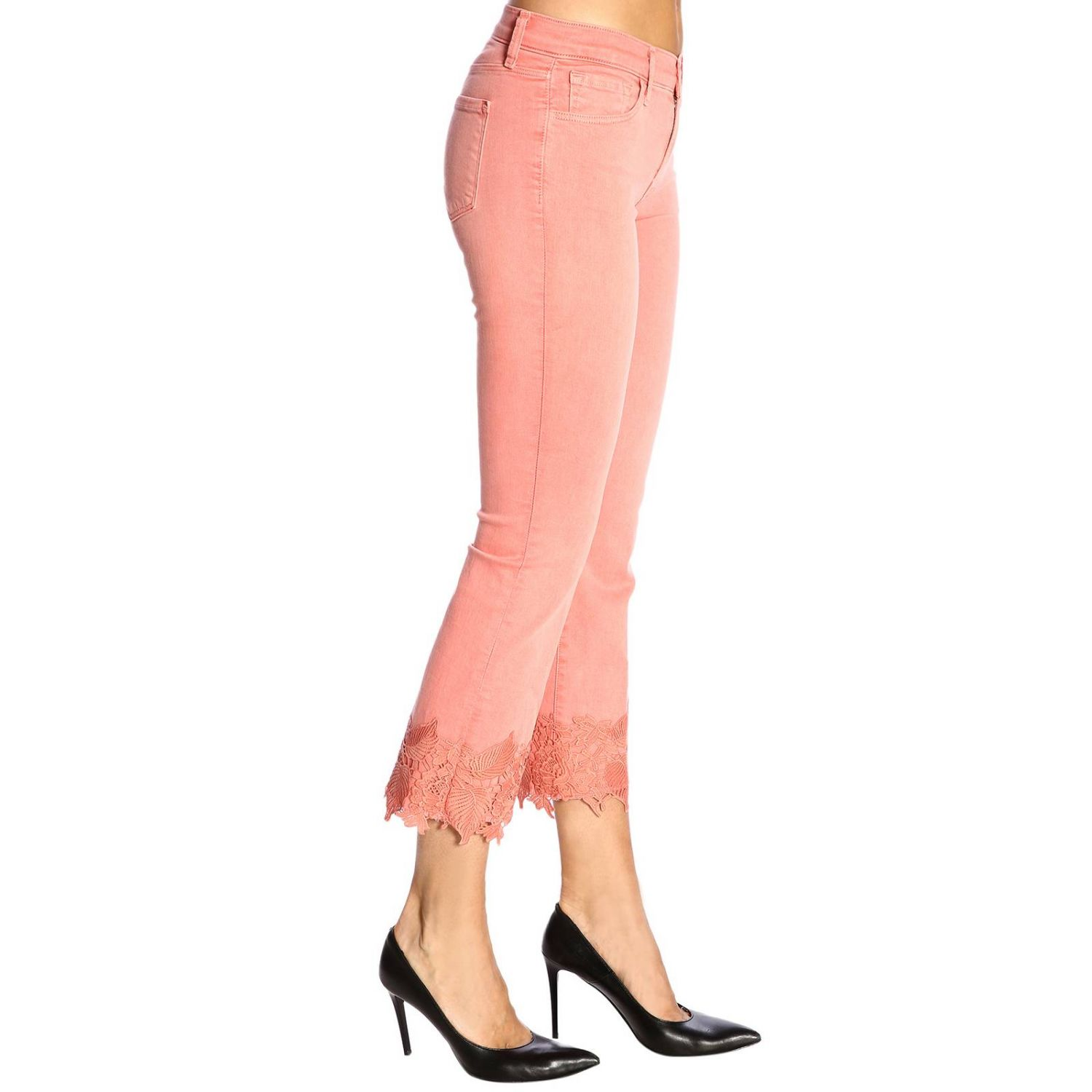 Jeans mujer J Brand rosa 2