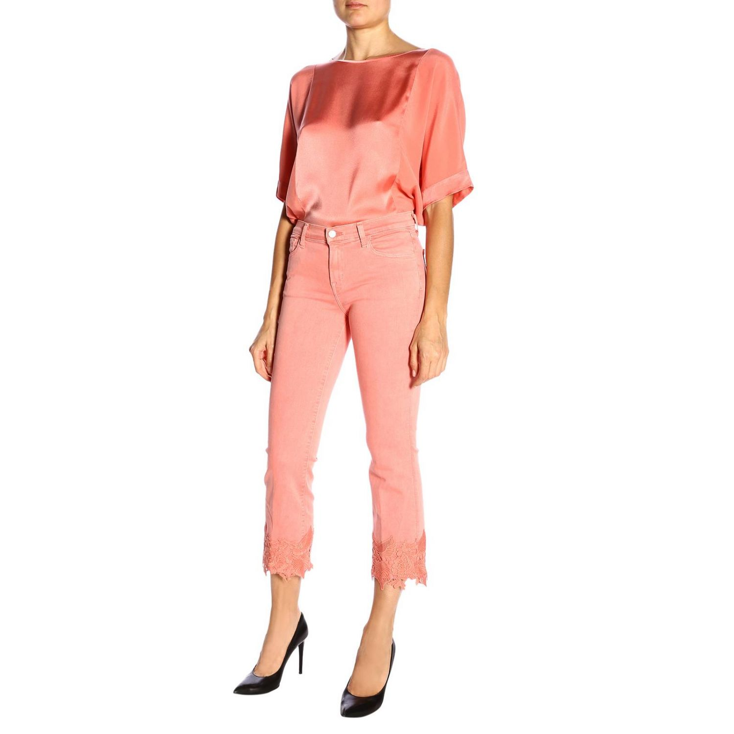 Jeans mujer J Brand rosa 5