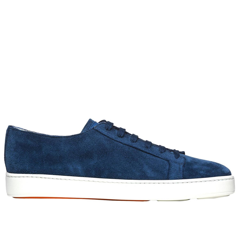 Sneakers uomo Santoni Club avion 1