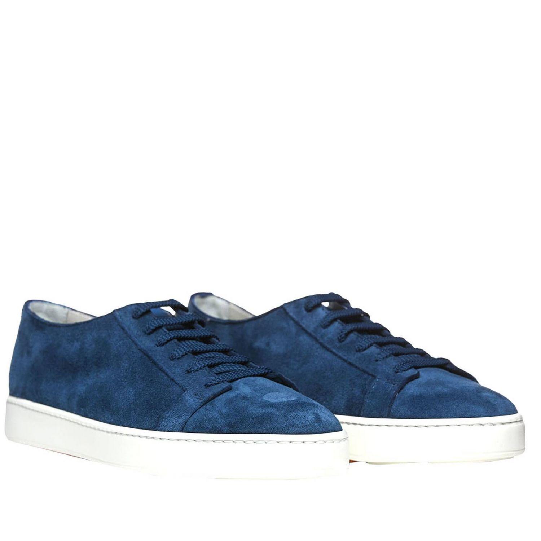 Sneakers uomo Santoni Club avion 2
