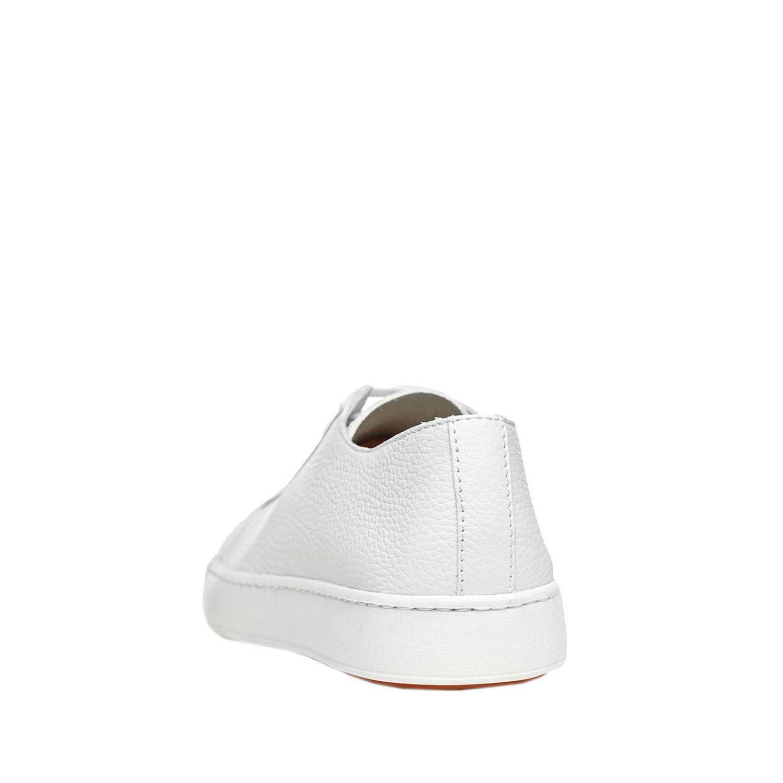 Sneakers uomo Santoni Club bianco 3