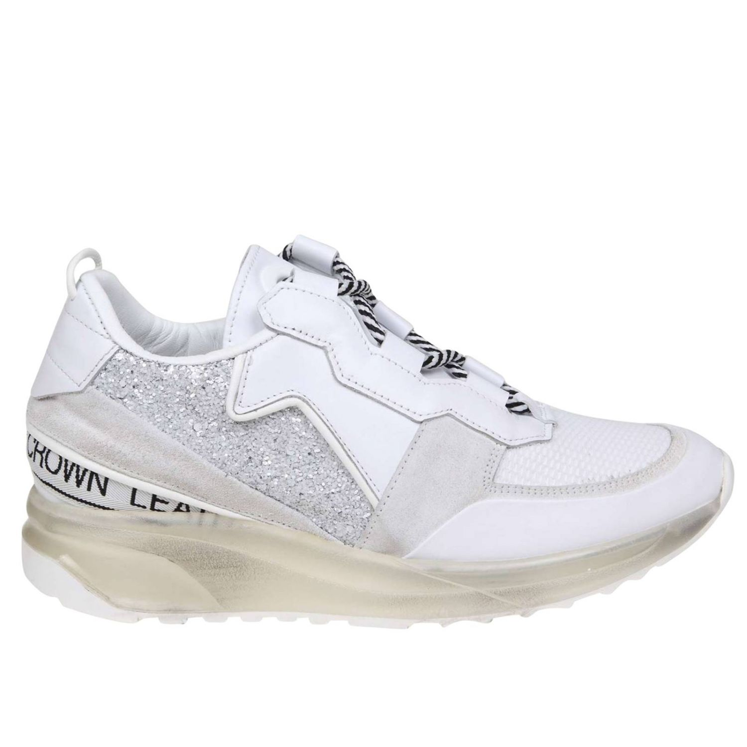 Sneakers women Leather Crown white 1