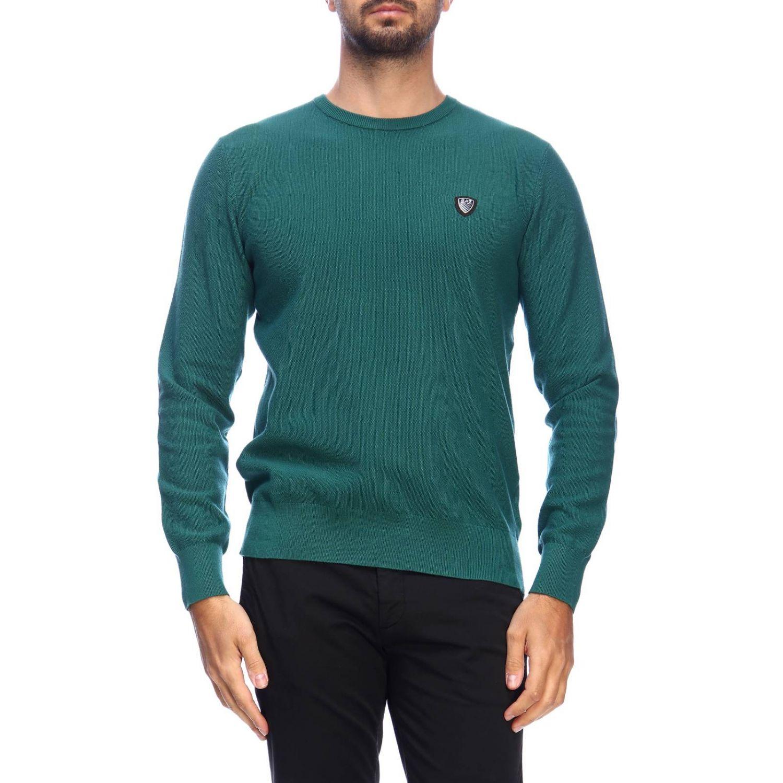 Pull homme Ea7 vert 1
