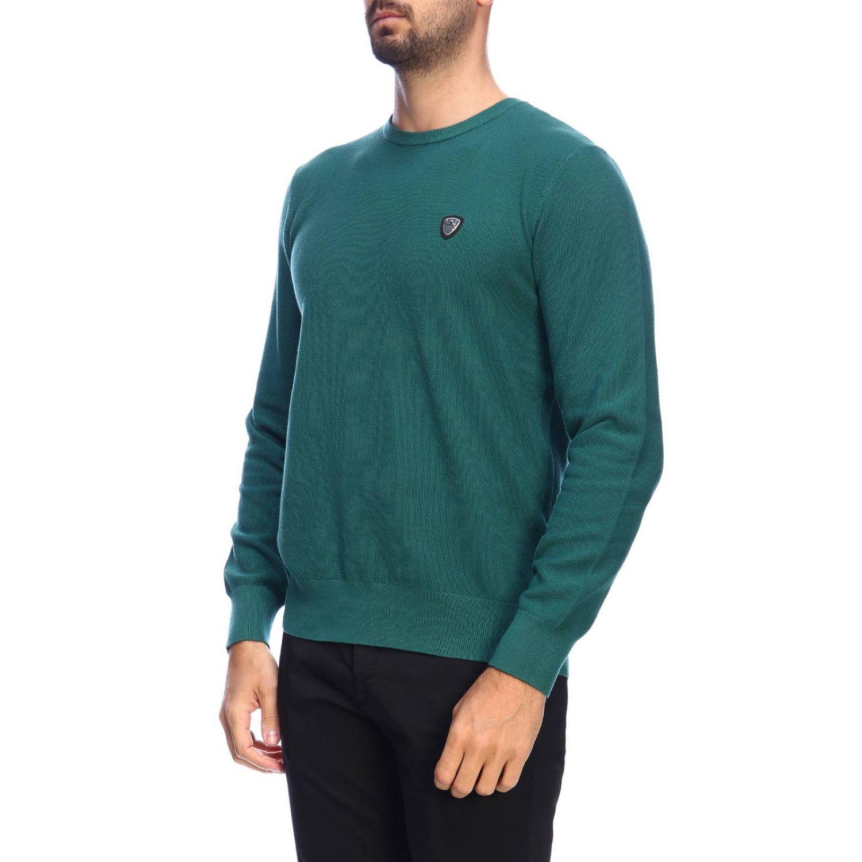 Pull homme Ea7 vert 2