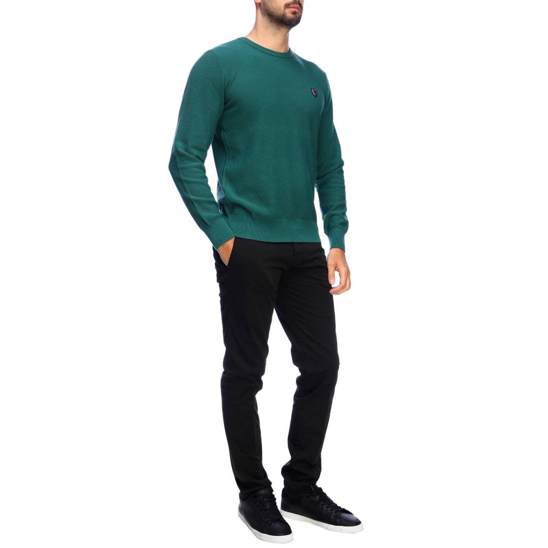 Pull homme Ea7 vert 4