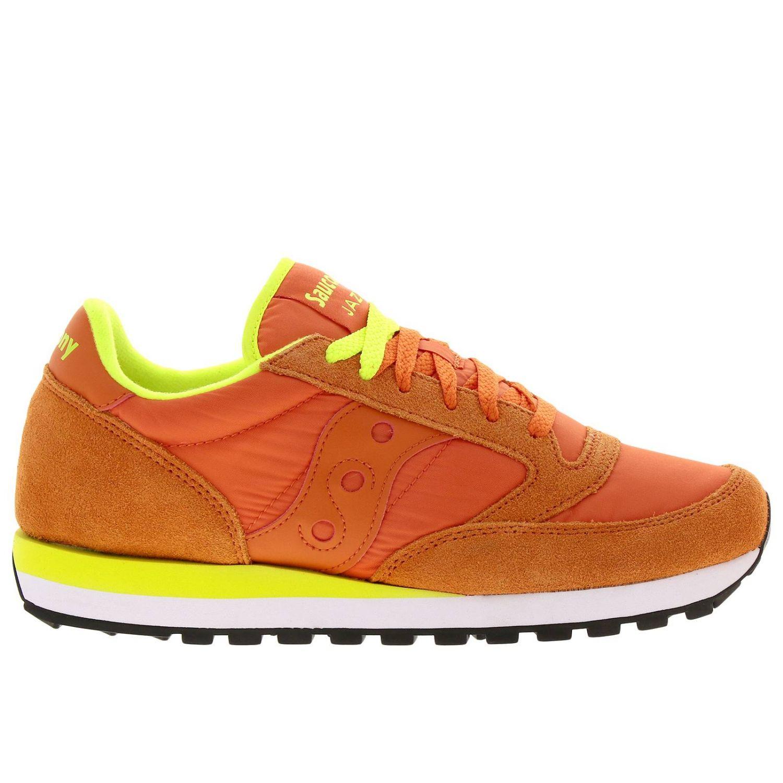 Sneakers uomo Saucony salmone 1